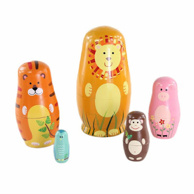 Cute Animal Nesting Doll Gift Ideas