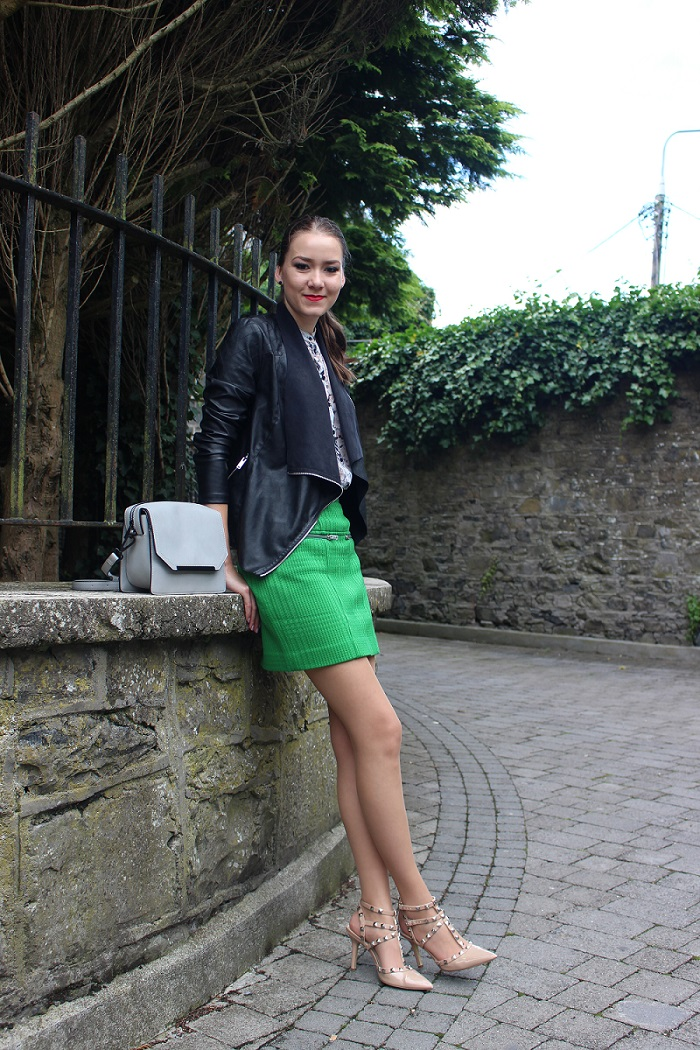 green skirt brand M Missoni