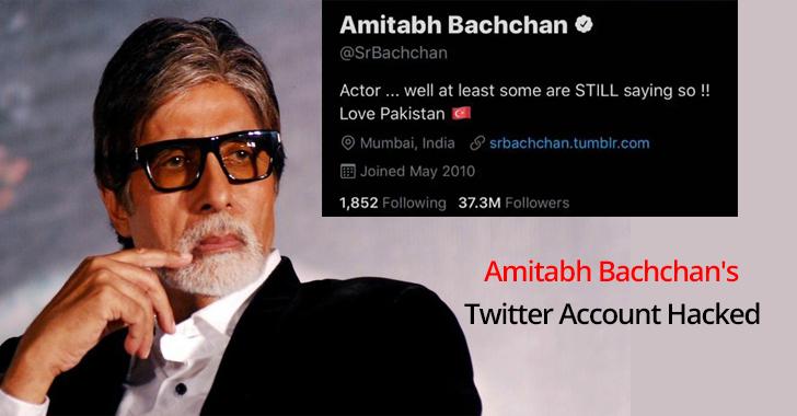 Amitabh Bachchan's Twitter Account