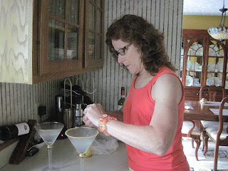 curling the lemon twist