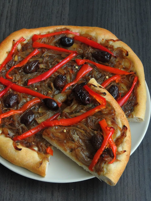 Vegan Pissaladiere, Vegan French Pizza