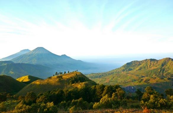 Gunung Prau Dieng Jalur Pendakian Puncak View Matahari Terbit Terbaik