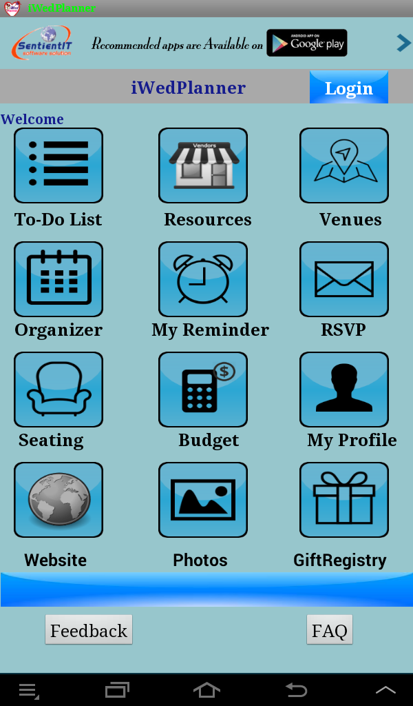 free wedding planner android app : May 2014