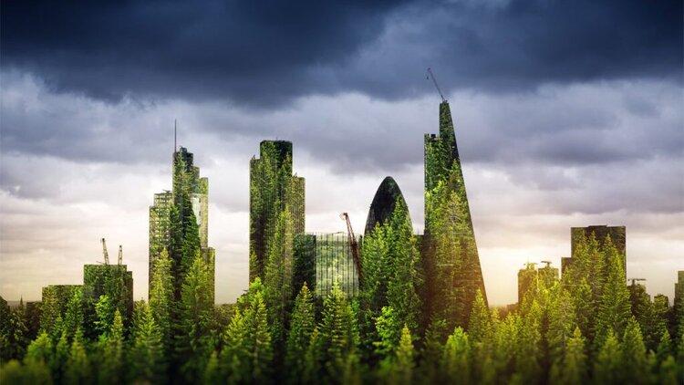 Cómo serán las ciudades del futuro, más verdes con comunidades más sostenibles