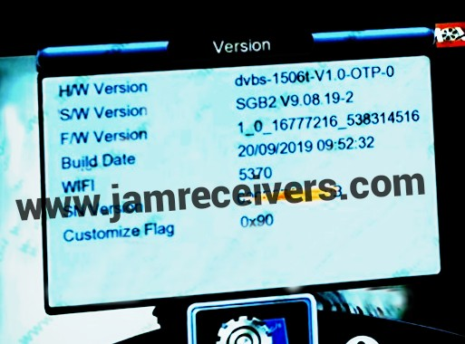 1506T SGB2 GODA SERVER SOFTWARE 2019 BY JAM RECEIVERS