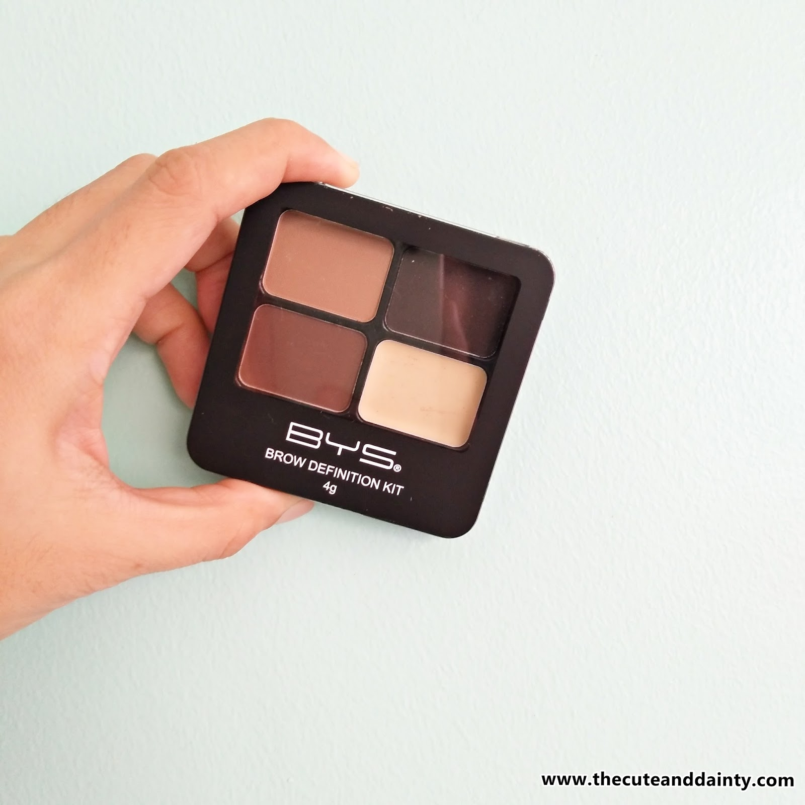 Review Bys Brow Definition Kit Cute And Dainty