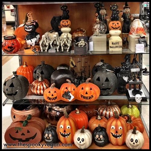 The Spooky Vegan: Halloween 2017 at HomeGoods
