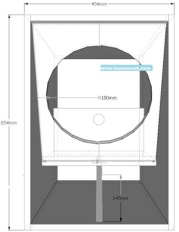 Desain kotak speaker mini scoop ukuran 15inch terbaru ...