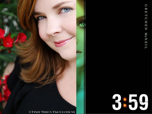 Gretchen McNeil, author of 3:59