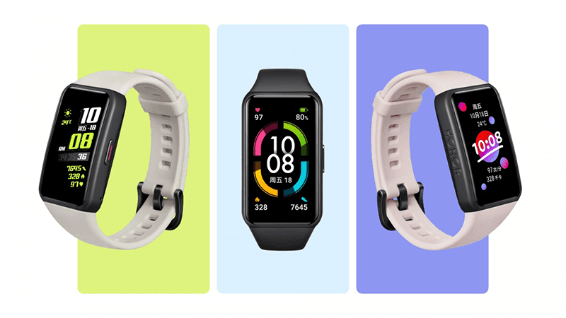 Honor Band 6 with a smartwatch-like design now official in China!
