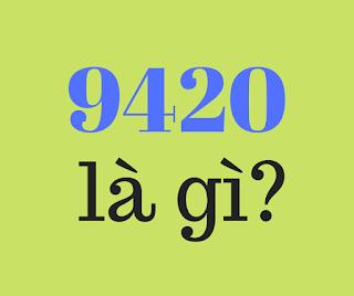9420 la gi