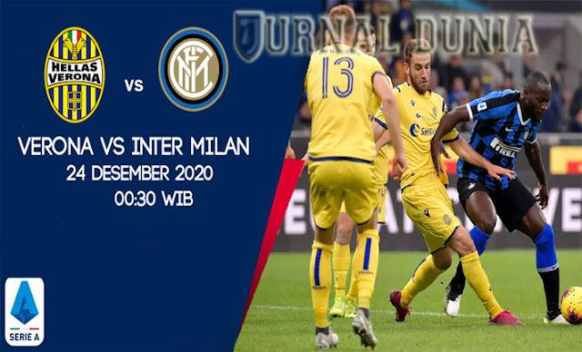 Prediksi Hellas Verona Vs Inter Milan, Kamis 24 Desember 2020 Pukul 00.30 WIB