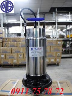 Phân phối máy bơm chìm nước thải Galaxy giá tốt quận 12 0911 75 78 72 Phân phối máy bơm chìm nước