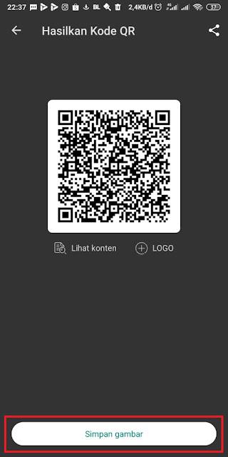 Cara Membuat Barcode Whatsapp