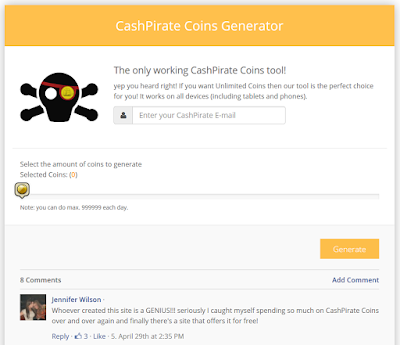 Cara Cheat / Hack CashPirate 100% Working