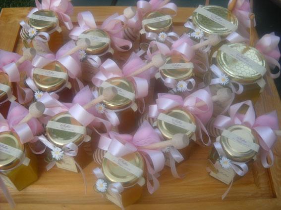 Bomboniere Matrimonio Telefono Azzurro : Bombomiele bomboniere miele