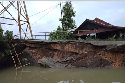 Jembatan Gantung Tokampu Sengkang Di Ujung Tanduk