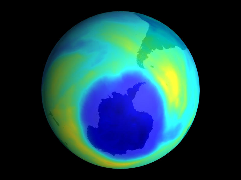 Environment: Ozone hole might slightly warm planet