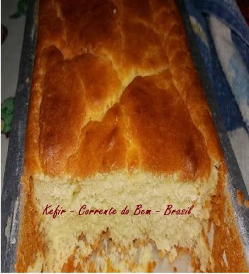 Pão de Iogurte de Kefir de Leite (Sem Glúten)