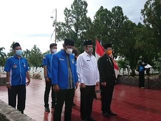 Peringati Sumpah Pemuda 28 Oktober, KNPI Gelar Apel di Makam Pahlawan Bersama OKP dan BEM Se-Kota Bandar Lampung