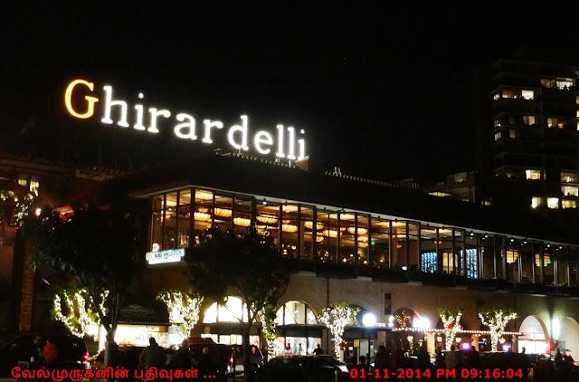 Ghirardelli Chocolate Company SFO