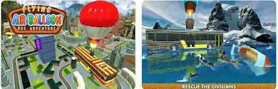 Game Balon Udara  - Flying Air Ballon Bus Adventure
