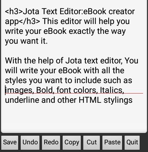 Free eBook creator app