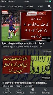 Goonj TV - screenshot 5