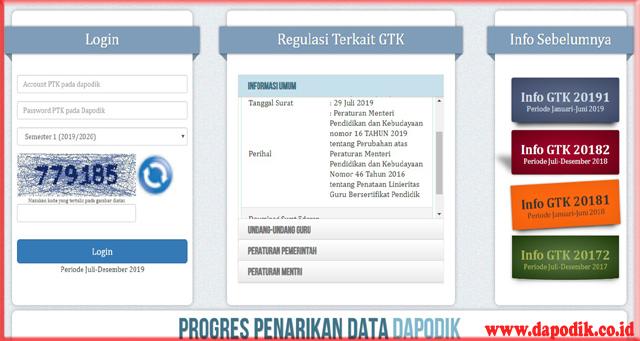 Cara Cek SK Tunjangan Sertikasi Di Info GTK Tahun 2020