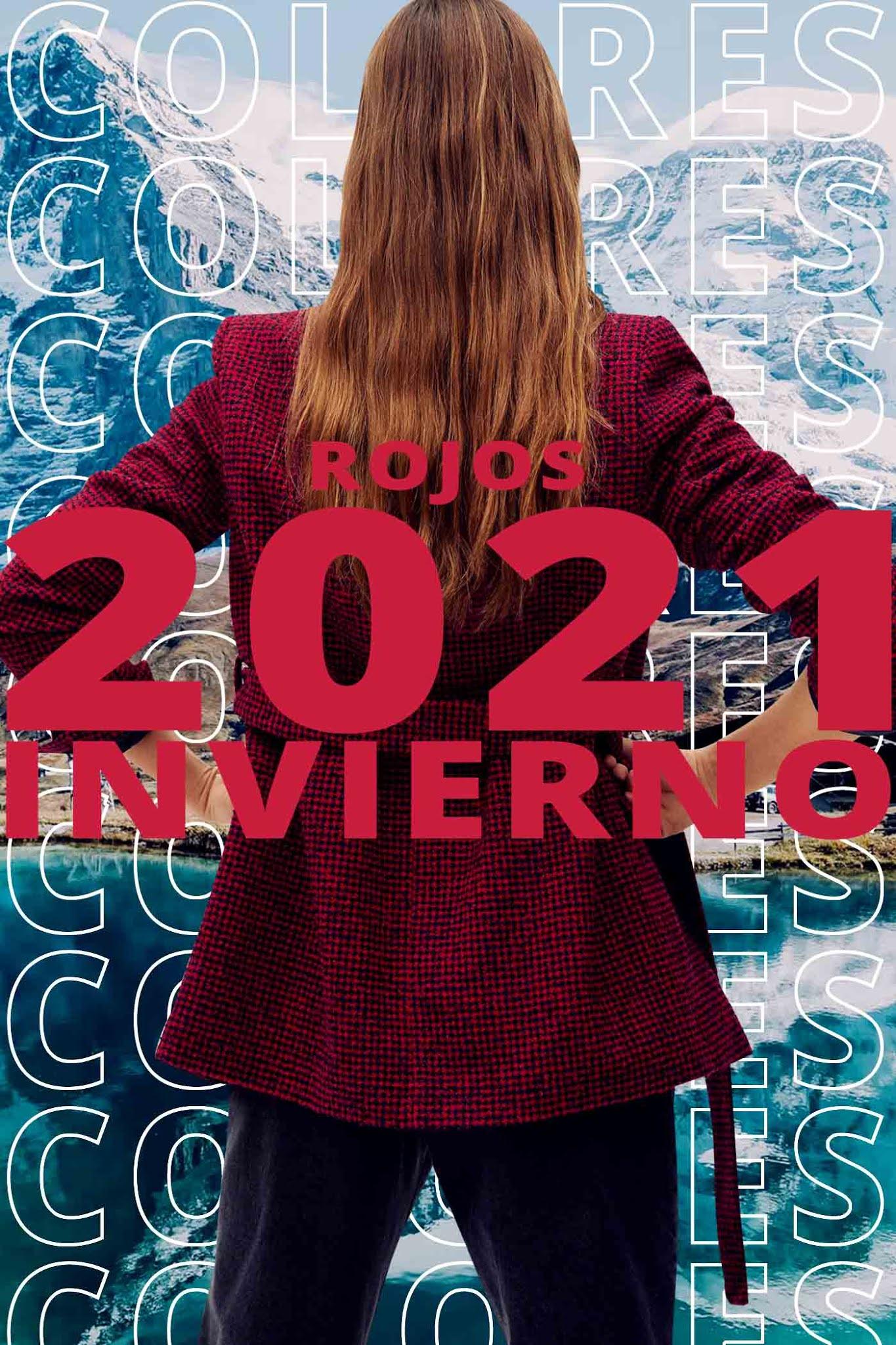 colores de invierno 2021 │ Rojo Rojos Bordo