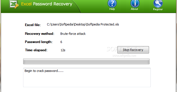 Excel password recovery software full version