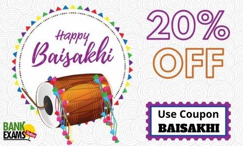 Baisakhi Offer on BankExamsToday