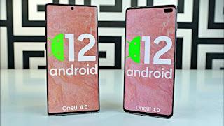 android 12 alacak samsung telefonlar