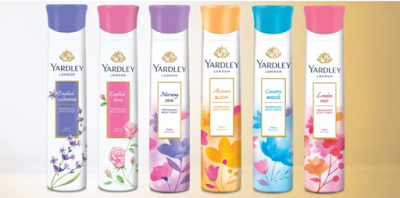 Yardley London Refreshing Body Spray for Womens to you refreshed and pleasantly fragrant