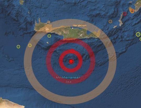 Il terremoto provoca un mini tsunami in Grecia