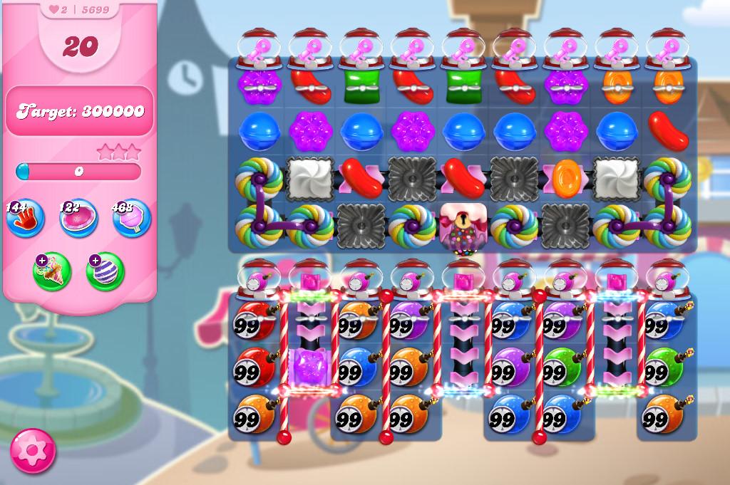 Candy Crush Saga level 5699