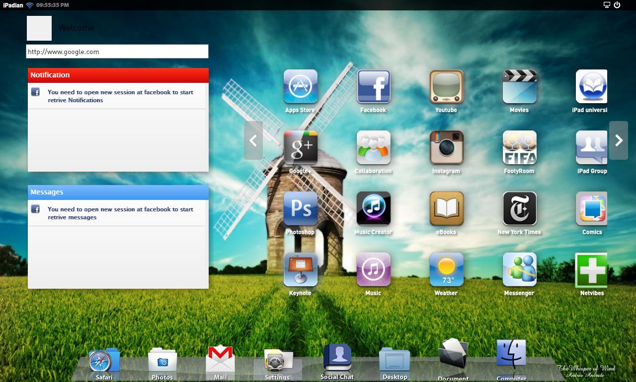 Time Killer: iPad simulator for windows