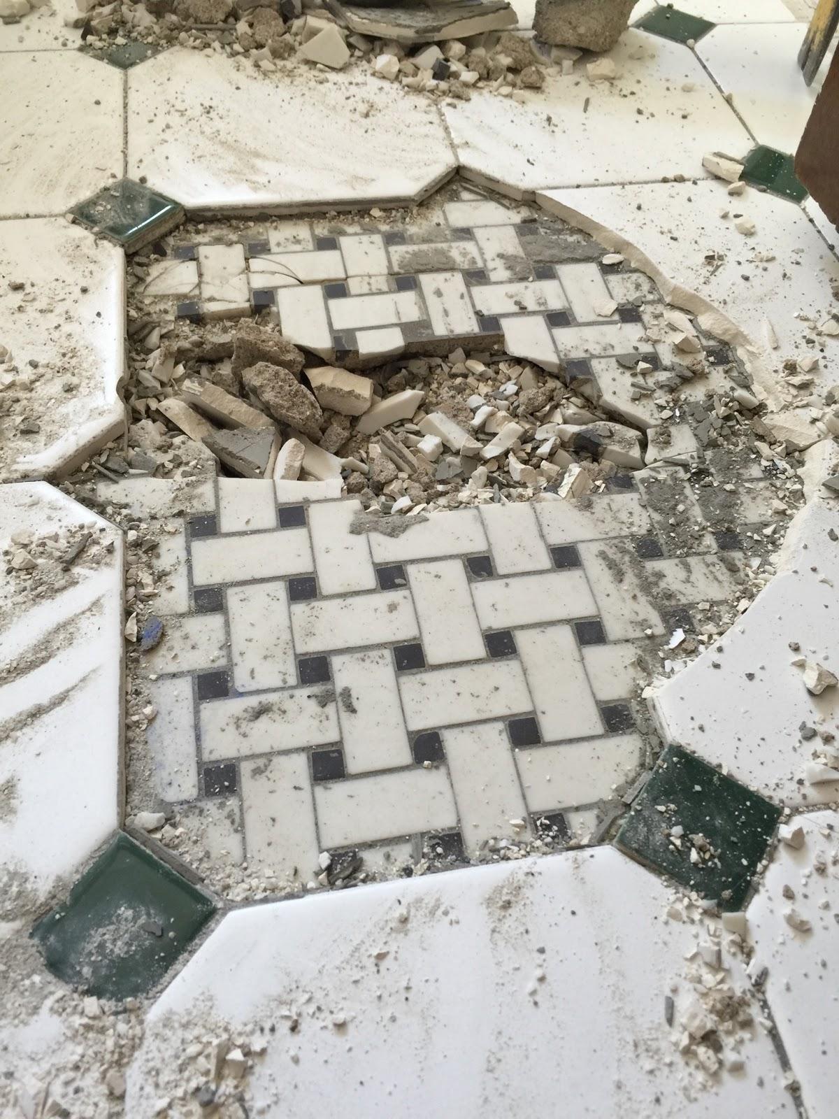 Depression Era Bathroom Tiles - Home with Keki