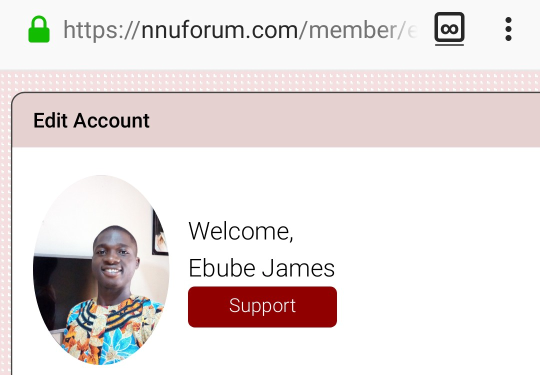 How To Upload Profile Picture To NNUForum Account