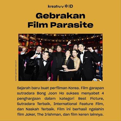 Gebrakan Film Parasite