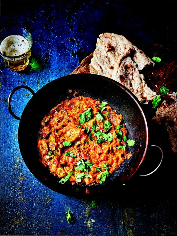 Easy Aubergine Balti