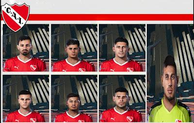 PES 2021 Facepack Independiente by Lucas
