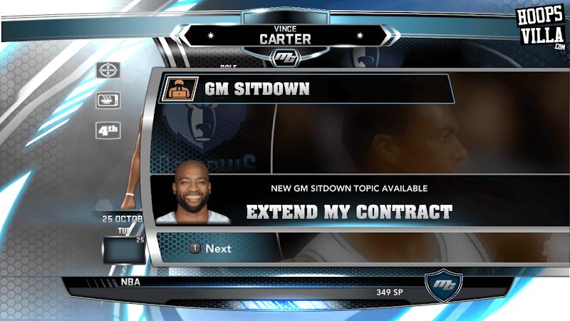 NBA 2k14 MyCareer Mod : Vince Carter - hoopsvilla