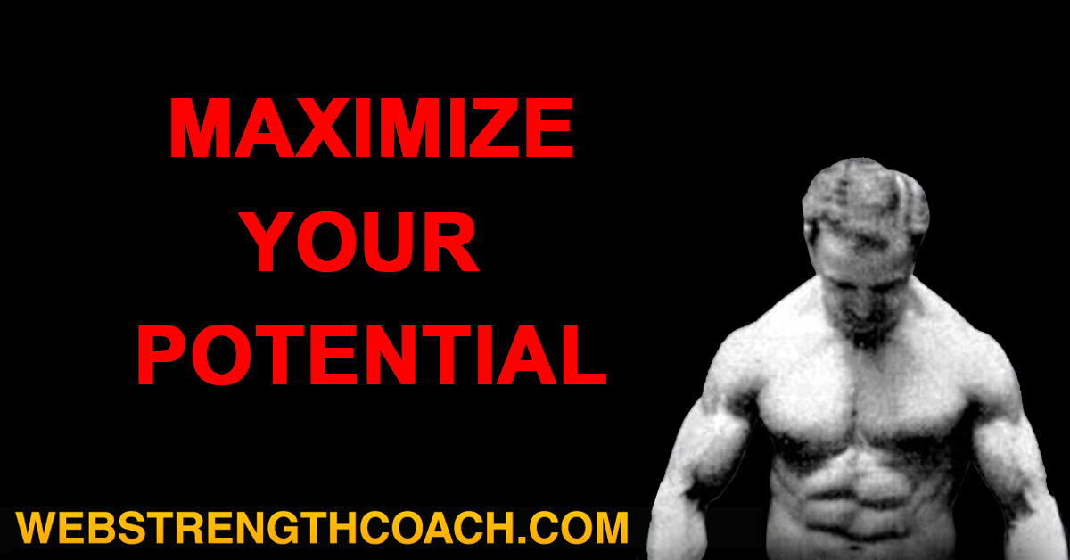 Maximize Your Potential