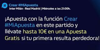 william hill Reembolso 10€ Apuesta Gratis Inter vs Real Madrid 15-9-21
