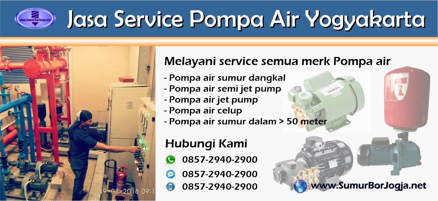 Jasa Service Pompa Air Pleret Bantul Yogyakarta