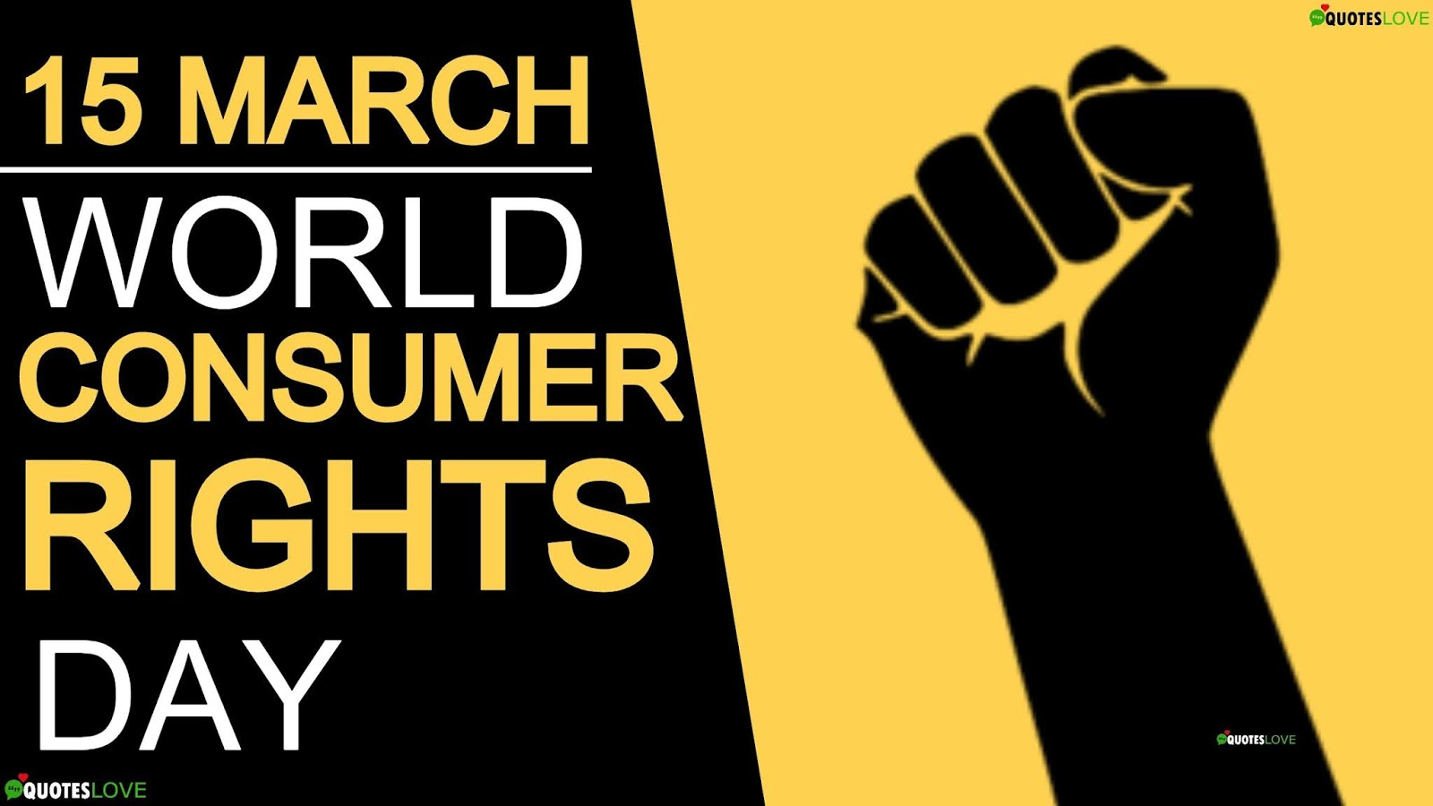 World Consumer Rights Day Quotes, Wishes, Slogan, Theme, Images, Poster