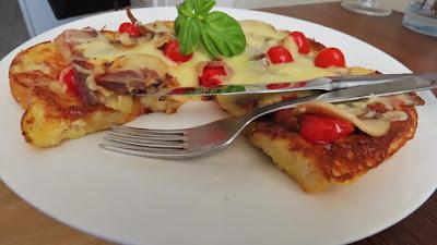 Ručak u karanteni - Pohani kruh kao pizza / Recipe to Cook during Quarantine- French Toast Pizza