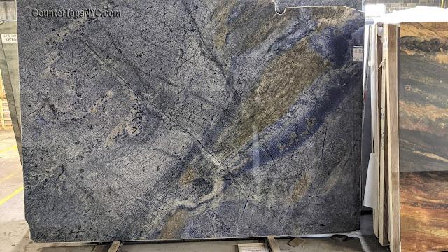 Blue Bahia Granite Slabs NYC