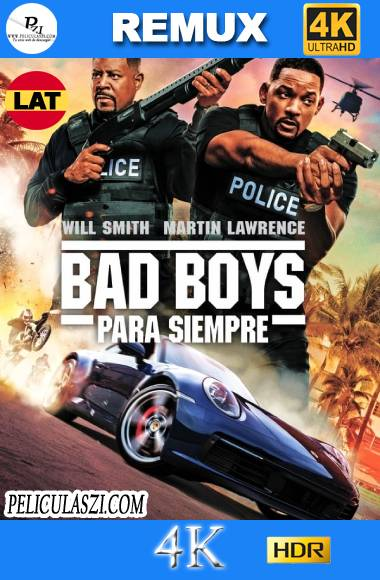 Bad Boys para Siempre (2020) Ultra HD REMUX 4K HDR Dual-Latino VIP